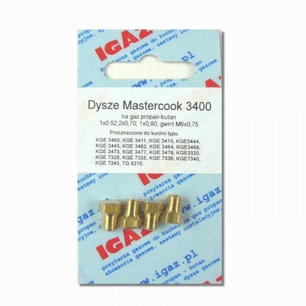 Dysze Mastercook 3400 PB (M6x0,75)  Igaz pl
